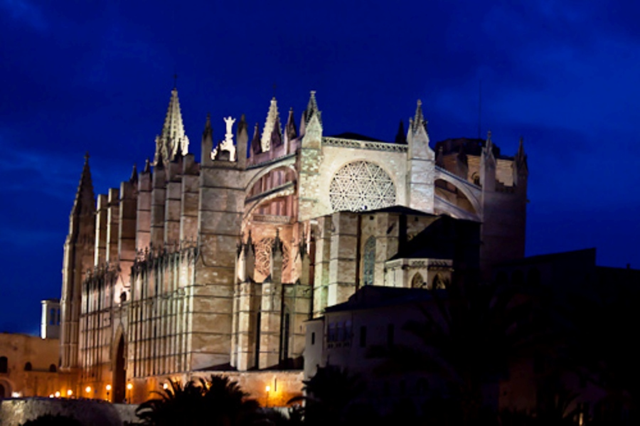 The La Seu Cathedral of Palma de Mallorca