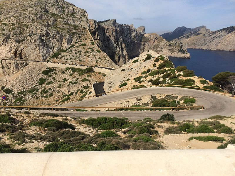 Road to Cap Formentor (Mallorca). Credit: CC/Marco Verch