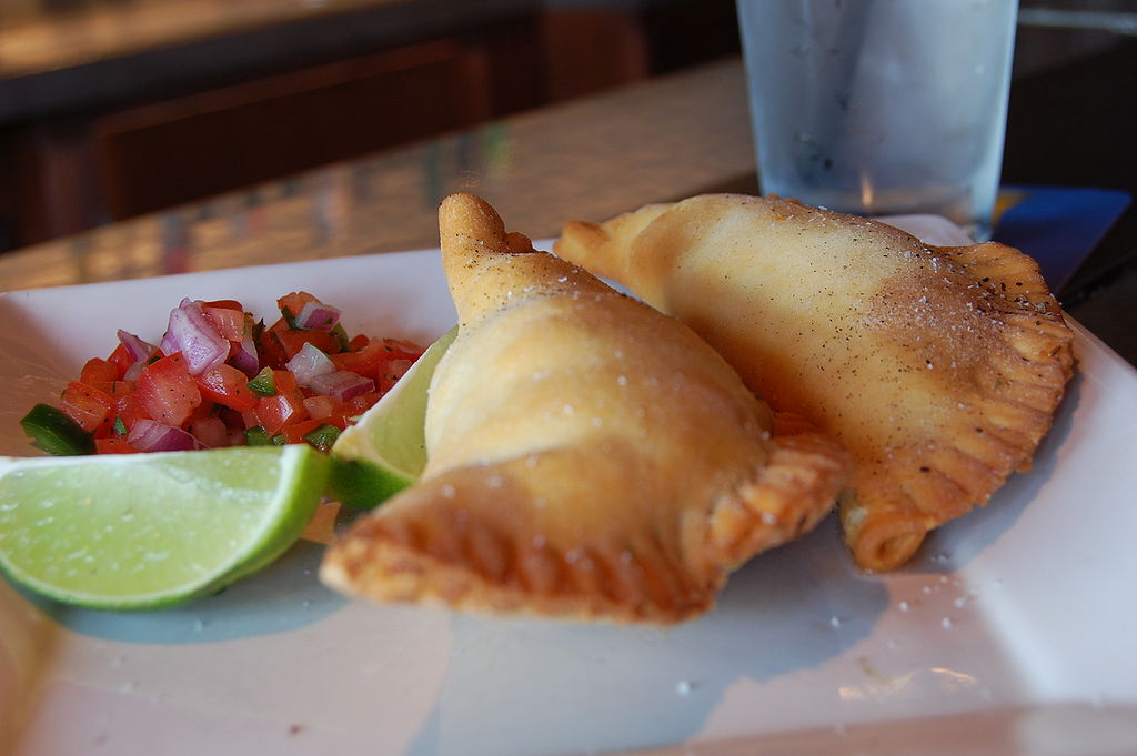 Empanadas, traditional food for Easter