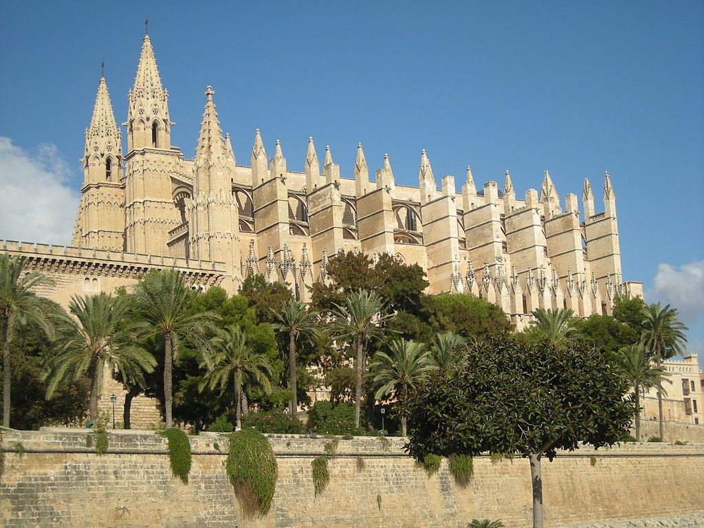 The Cathedral of Santa Maria of Palma, Palma, Mallorca.